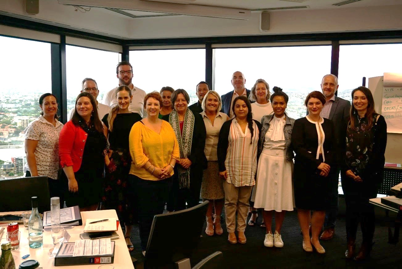 CRC Brisbane workshop participants