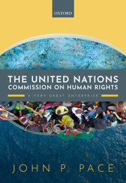 The United Nations Commission on Human Rights: 'A Very Great Enterprise' cover